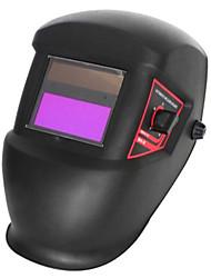 Elegante Preto Li Bateria Solar Auto Escurecimento Welding Helmet