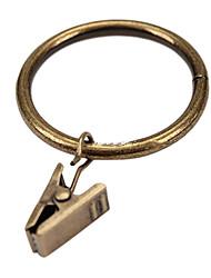 Retro Style Solid Curtain Clip Ring (Diameter 3.2cm)