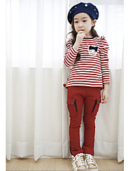 Girl's Cotton Clothing Set , Winter Long Sleeve