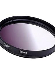 58mm Постепенное Серый фильтр объектива
