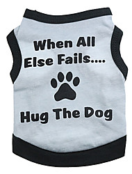 Cute Hug The Dog Pattern Vest for Pets Dogs (Assorted Sizes)