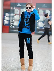 Women's Number 32 Print Three Pieces Thin Hoodie Set