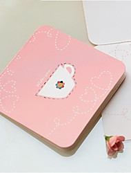 Teacup modello Greeting Card - set di 12