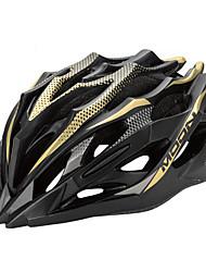 LUNA Ciclismo Amarillo + Negro PC / EPS 28 Vents MTB Helmet