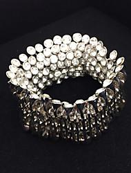 HEAD INT'L Shiny Artificaldiamond Extravagant Bracelet
