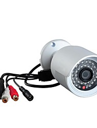POE (Power Over Ethernet) IPCC ONVIF 2.2 1MP P2P H.264 IR-Cut Mini Waterproof Câmara bullet IP