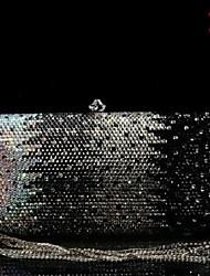 New Handmade Beaded Evening Bag Clutch Crystal Purse Case Party Wedding Handbag