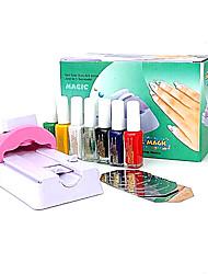 DIY Nail Art Varnish Color Printing Machine Kit