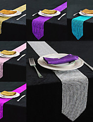 Table Centerpieces Bling Rhinestone Table Runner   Table Deocrations (More Colors)