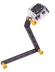 CNC de aluminio de armas y tornillo para GoPro HD Hero3 (de oro)