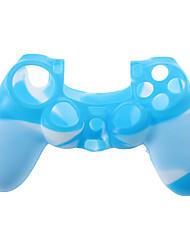 Камуфляж Стиль Силиконовый чехол из контроллер для PS4 (разных цветов)