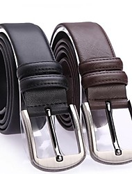 Men Buckle , Casual Leather