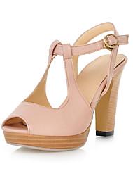 Frauen Blockabsatz Slingback-Sandalen Schuhe (mehr Farben)
