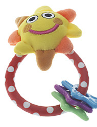 Cute Sunflower Doll Ring Toy with Stars for Pets Dogs