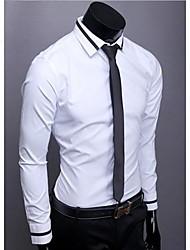 Shirt Temperamento Colore butile maglia di colore Uomo