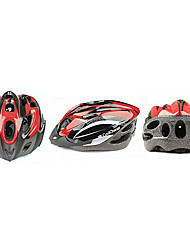 CoolChange 18 Vents EPS Red Capacete de Ciclismo