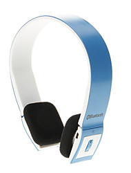 8086 Oreillette Bluetooth Music On-Ear pour Iphone Ipad ordinateur (Bleu)