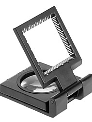 10X  Folding Magnifier Magnifying Glass with Scale