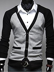 Men's Casual Long Sleeve Cardigan