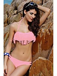 Últimas Flecos cabestro bikini de la mujer