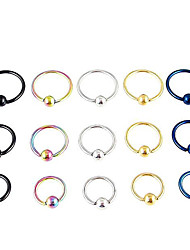 Miss ROSE®Men's Fashion Medical Stell Earrings(1pcs)