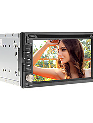 6.2inch 2 din in-dash auto universale lettore DVD per Nissan con il GPS, IPOD, RDS, BT, Touch Screen, TV