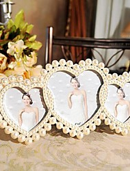 "4""Modern European Style Pearl Metal Picture Frame"