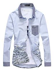 Tinta hombres ocasionales Características del modelo Shirt