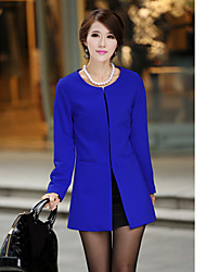 Women's Coats & Jackets , Cotton/Others Yishixia