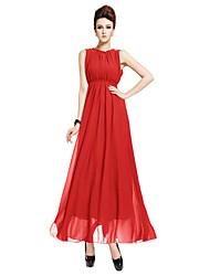 Women's Dresses , Chiffon Zhenxiang