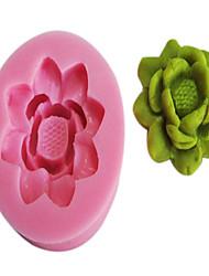 3D Круглый Цветок образцу Силиконовые Mold