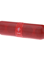 F808 Muti Funtion Bluetooth Speaker Suporte TF/MP3 Player / FM (vermelho)