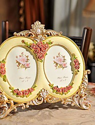 """5""""Modern European Style Pearl Metal Picture Frame"""