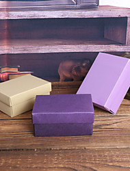 12 Piece/Set Favor Holder - Cuboid Pearl Paper Favor Boxes Non-personalised