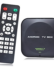 Dual Core Android TV Box Cortex A9 WiFi Remote Control (ROM 8GB RAM 1GB)