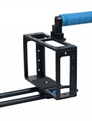 Großhandel NEW Kamera Cage + Top Handle +15 MM Rod-Block RIG für 5D Mark II / 7D
