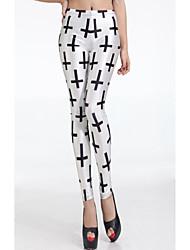 Women's Digital Printing Pattern Leggings Pants