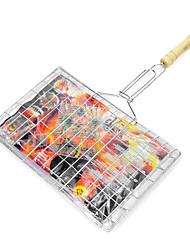 "Metal Barbacoa Net Clamp, W22cm x L42cm x H5cm (W9 ""x L17"" x H2 "")"
