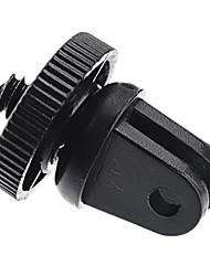 Preto Mini Adaptador de tripé monopé Monte Para GoPro HD Hero3 2 1 Camera