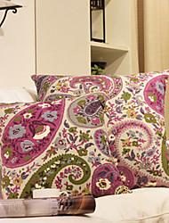 Coussin décoratif Fleurs classiques de modèle avec insert
