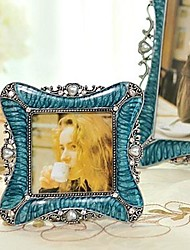 3''  Modern European Style Pearl Metal Picture Frame