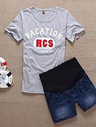 Pantalones de maternidad 5 Jean Shorts con Pocket