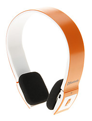 8086 Auricolare Bluetooth Music On-ear per Iphone Ipad Computer (arancione)