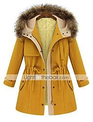 Women's Coats & Jackets , Tweed Casual Pinklady