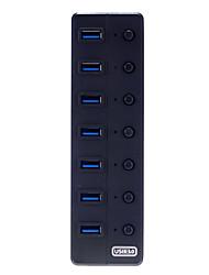 7 puertos USB 3.0 de alta velocidad Económico Disseny Hub