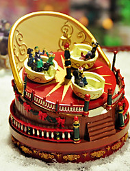 Children's Playground Music Box Play Joy to the World
