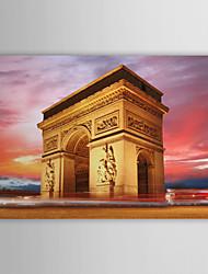 Натянутым холстом печати Искусство Пейзаж Красивые Франции