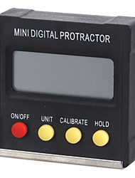 "Mini Digital 1.6"" LCD 360-Degree Slope Angle Upright Magnet Protractor Inclinometer Angle Meter"