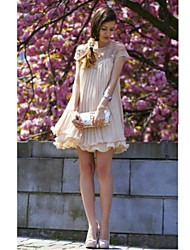 Women's Lace / Vintage / Cute Dress Mini Chiffon / Mesh