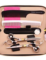 Stylish Extreme Gem Design Hairdressing Bang Shears Scissor Set
